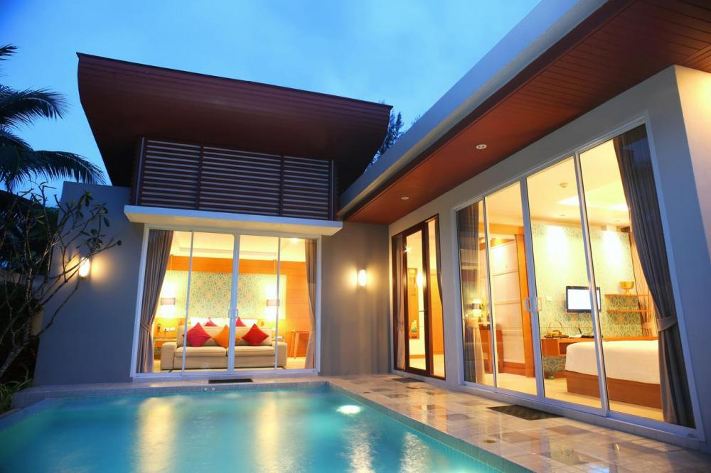 Hotel with private pool - Apsara Beachfront Resort & Villa