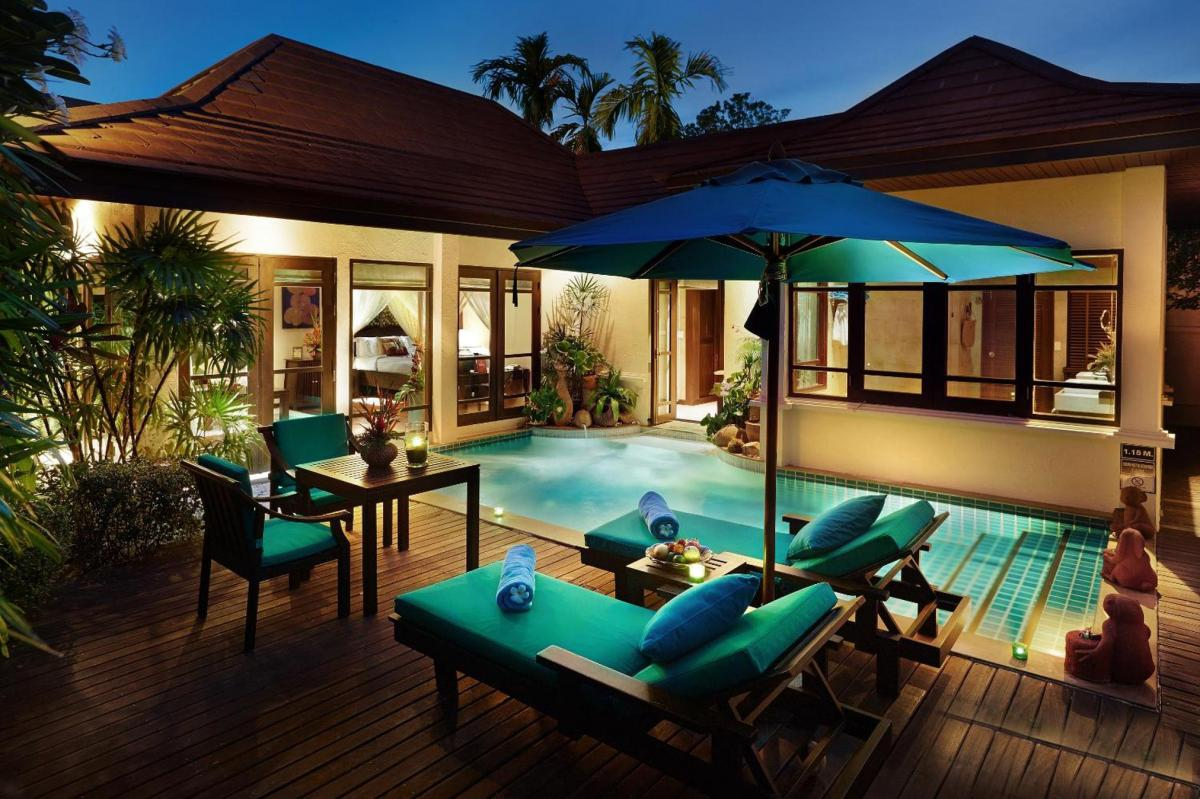 Hotel with private pool - Bo Phut Resort and Spa