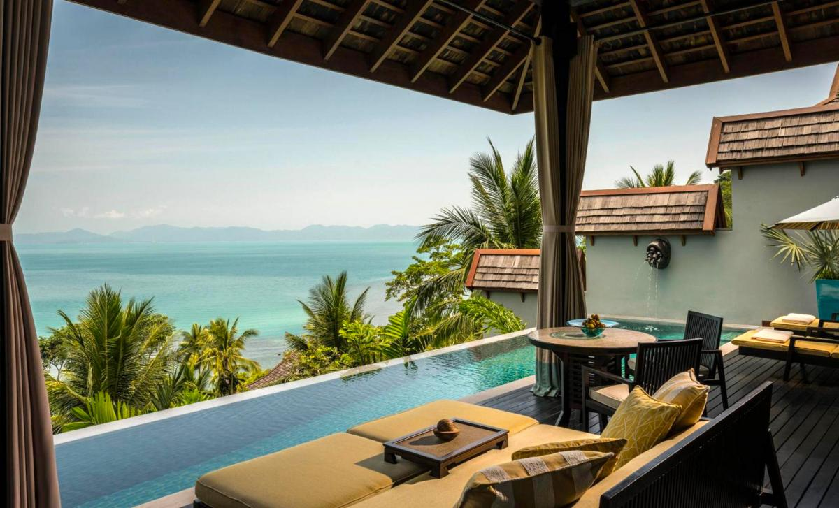 Hotel with private pool - Four Seasons Resort Koh Samui
