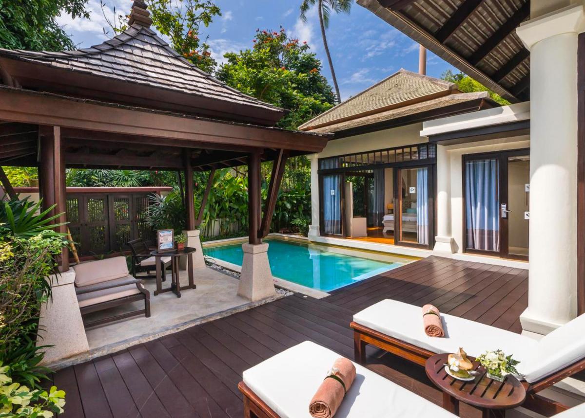 Hotel with private pool - Melati Beach Resort & Spa