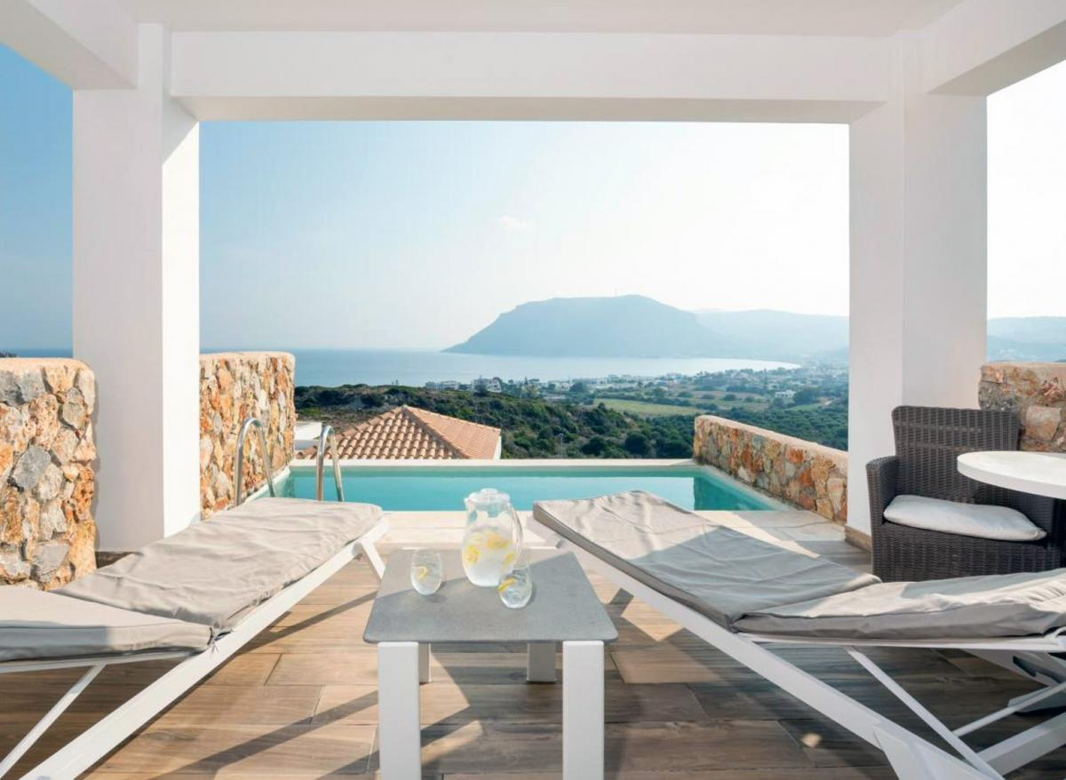 Hotel with private pool - White Rock of Kos Hotel - Adults only