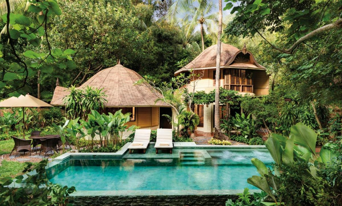 Hotel with private pool - Rayavadee