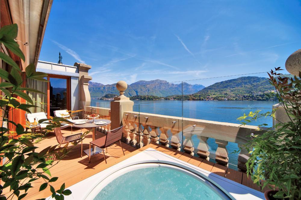 Hotel with private pool - Grand Hotel Tremezzo
