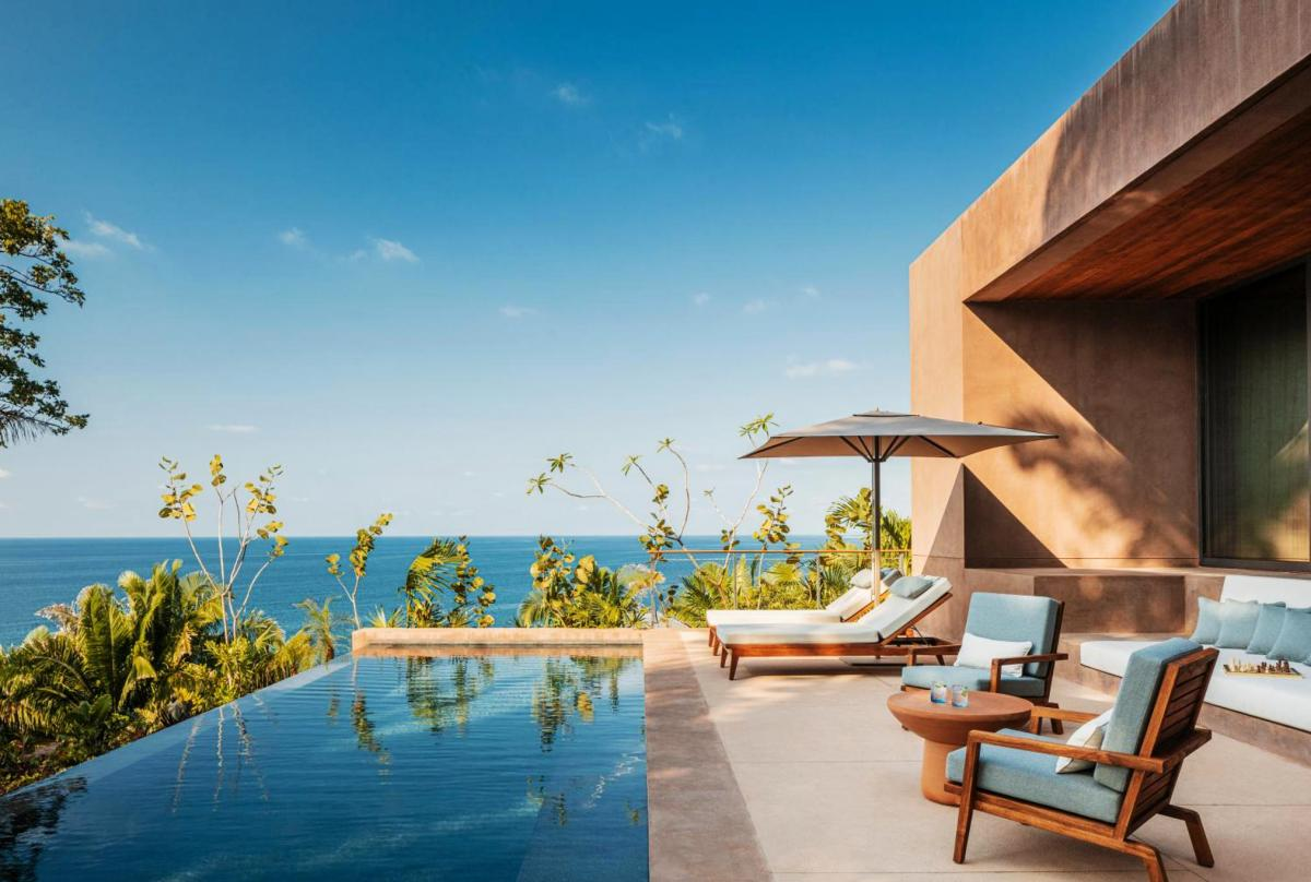 Hotel with private pool - One&Only Mandarina