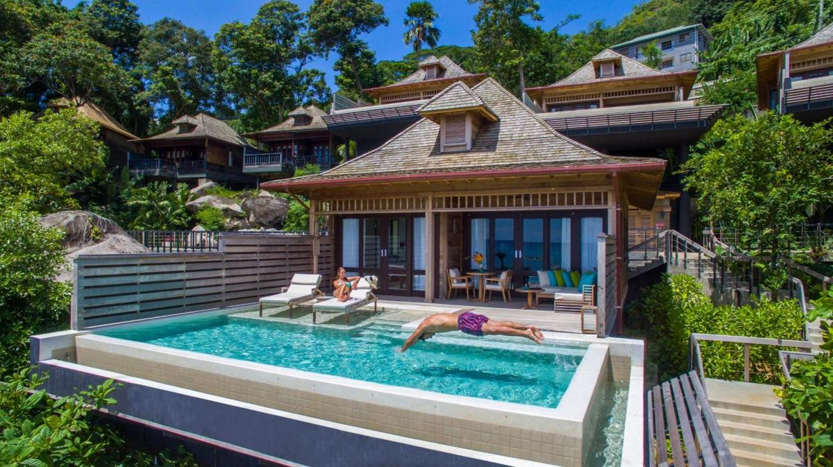 Hotel with private pool - Hilton Seychelles Northolme Resort & Spa