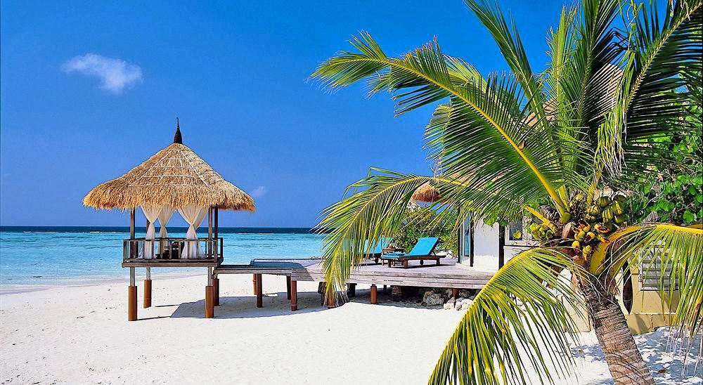 Hotel with private pool - Banyan Tree Vabbinfaru