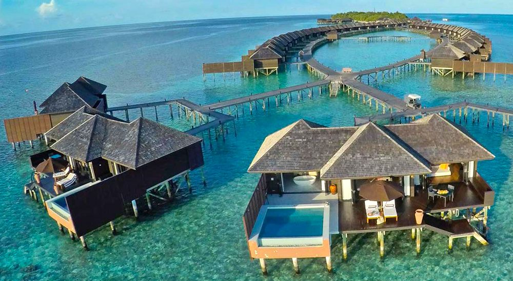 Hotel with private pool - Lily Beach Resort and Spa
