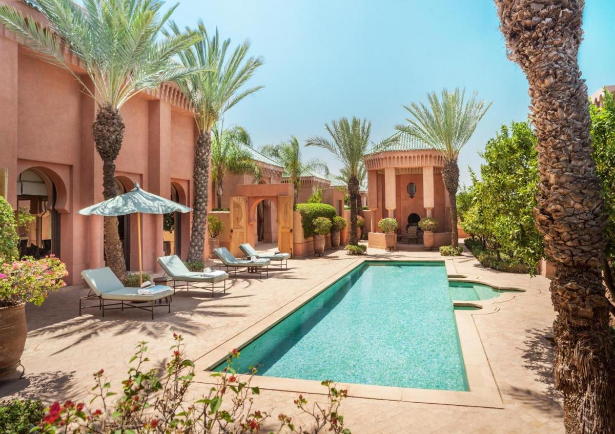 Hotel with private pool - Amanjena Resort