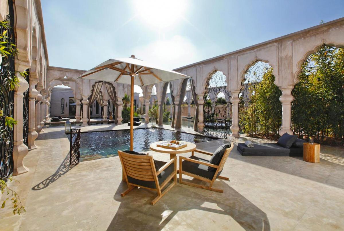 Hotel with private pool - Palais Namaskar