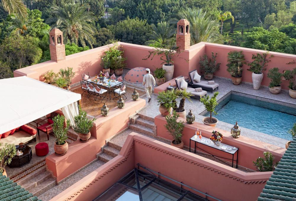 Hotel with private pool - Royal Mansour Marrakech