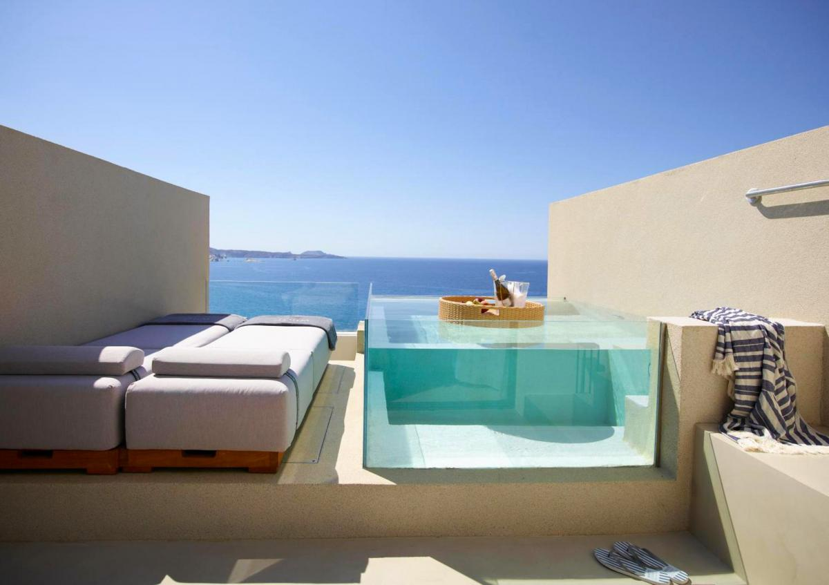Hotel with private pool - White Coast Pool Suites, Adults Only - Small Luxury Hotels of the World