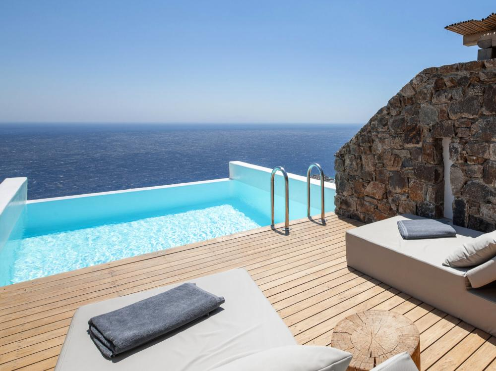 Hotel with private pool - Alissachni Mykonos