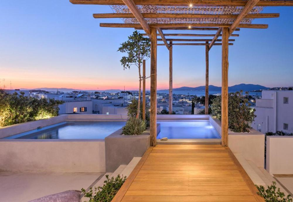 Hotel with private pool - Belvedere Mykonos - Main Hotel