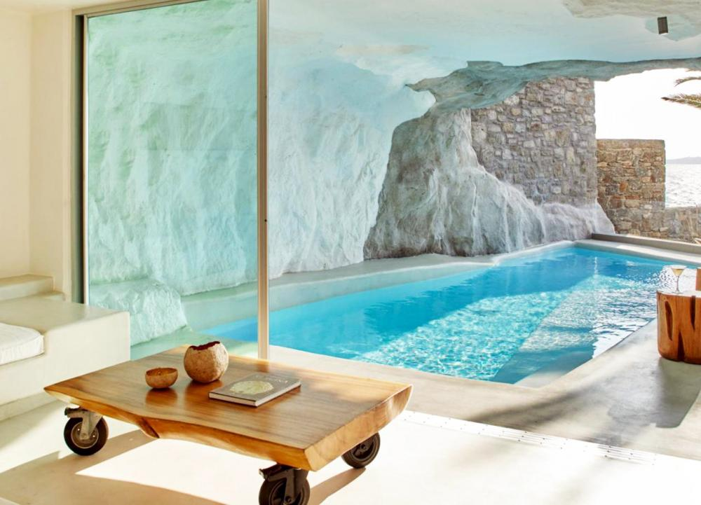 Hotel with private pool - Cavo Tagoo Mykonos