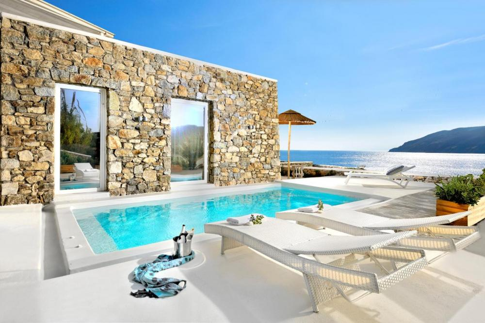 Hotel with private pool - Mykonos Pantheon