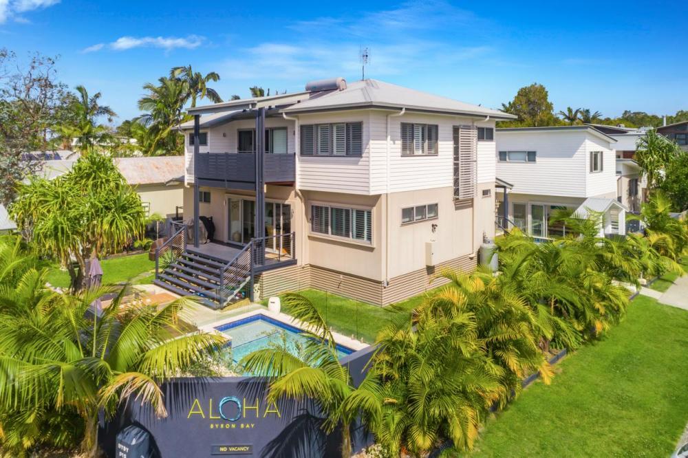 Hotel with private pool - Aloha Byron Bay