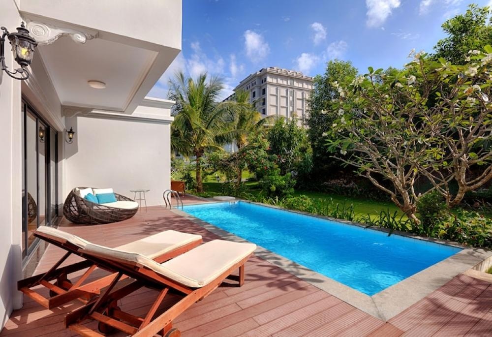 Hotel with private pool - Vinpearl Discovery Rockside Nha Trang