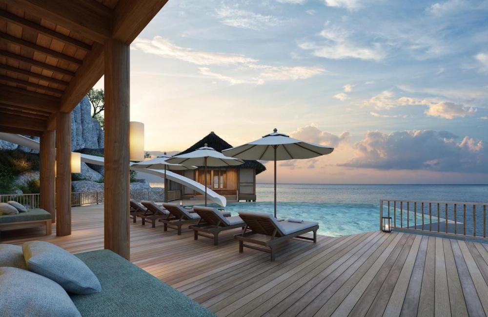 Hotel with private pool - Six Senses Ninh Van Bay