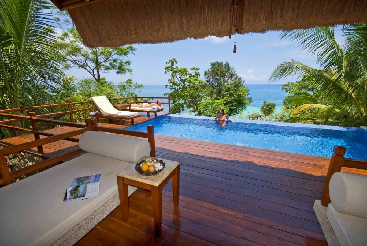 Hotel with private pool - Eskaya Beach Resort and Spa