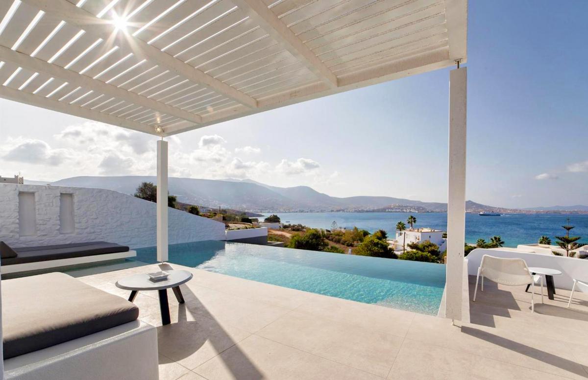 Hotel with private pool - Paros Agnanti Hotel
