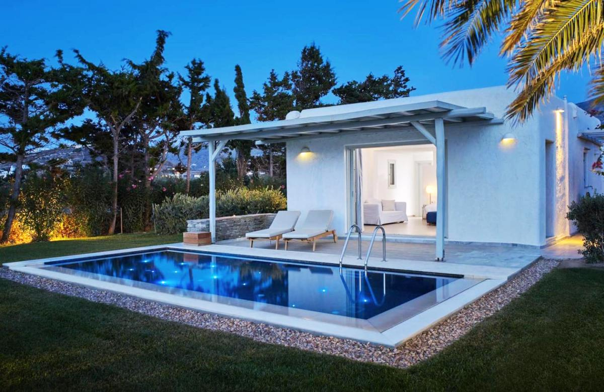 Hotel with private pool - Yria Island Boutique Hotel & Spa