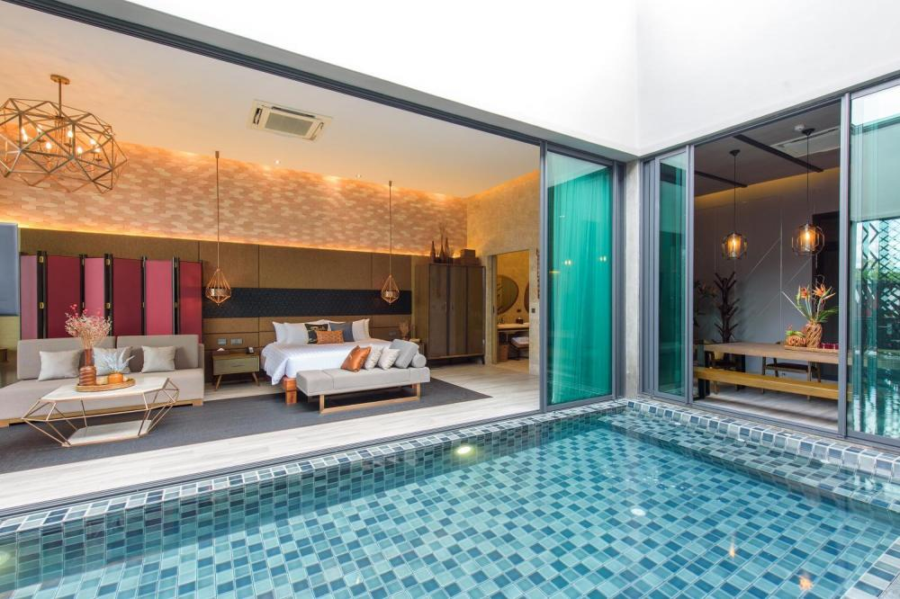 Hotel with private pool - The Gems Mining Pool Villas Pattaya