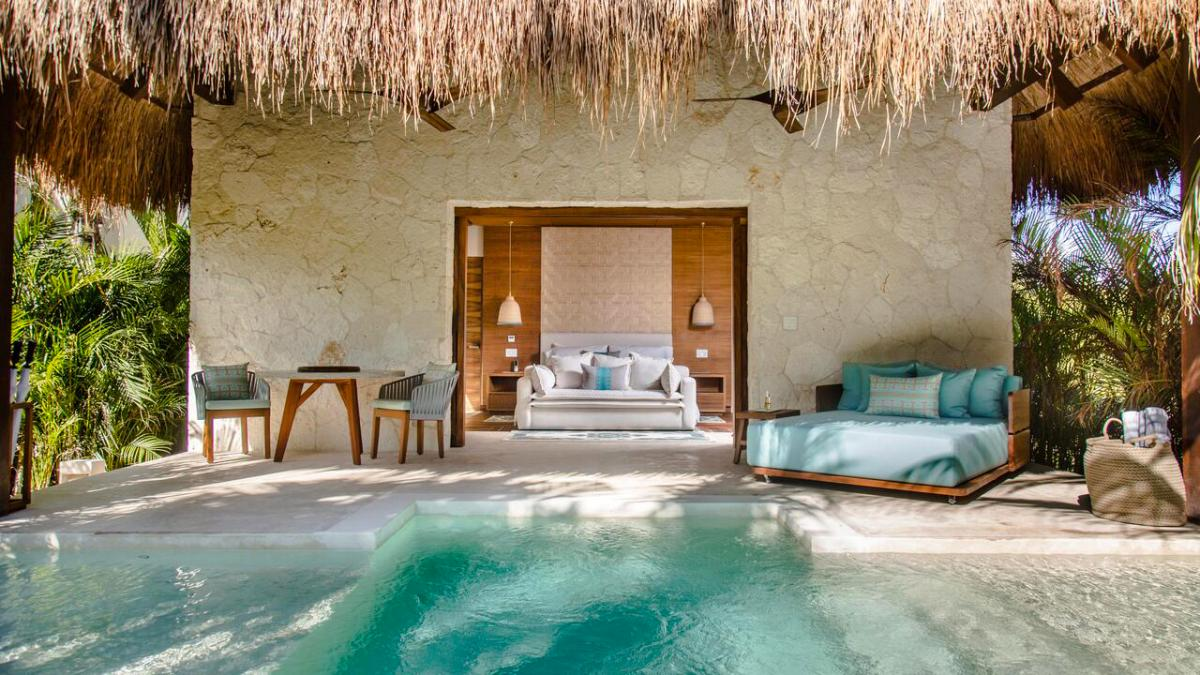 Hotel with private pool - Chablé Maroma