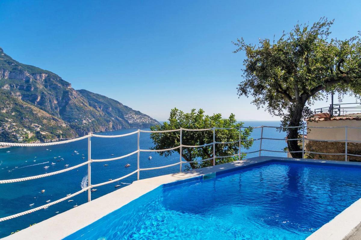 Hotel with private pool - Positano Luxury Villas