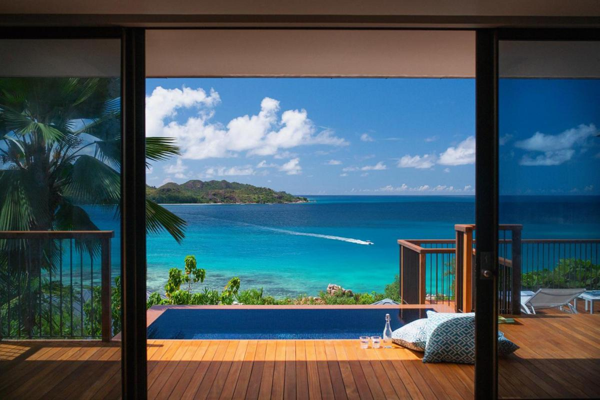 Hotel with private pool - Raffles Seychelles