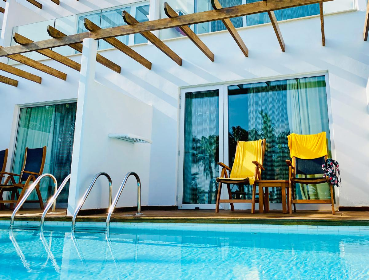 Hotel with private pool - Sunrise Pearl Hotel & Spa