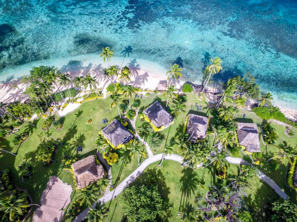 Hotel with private pool - Qamea Resort & Spa