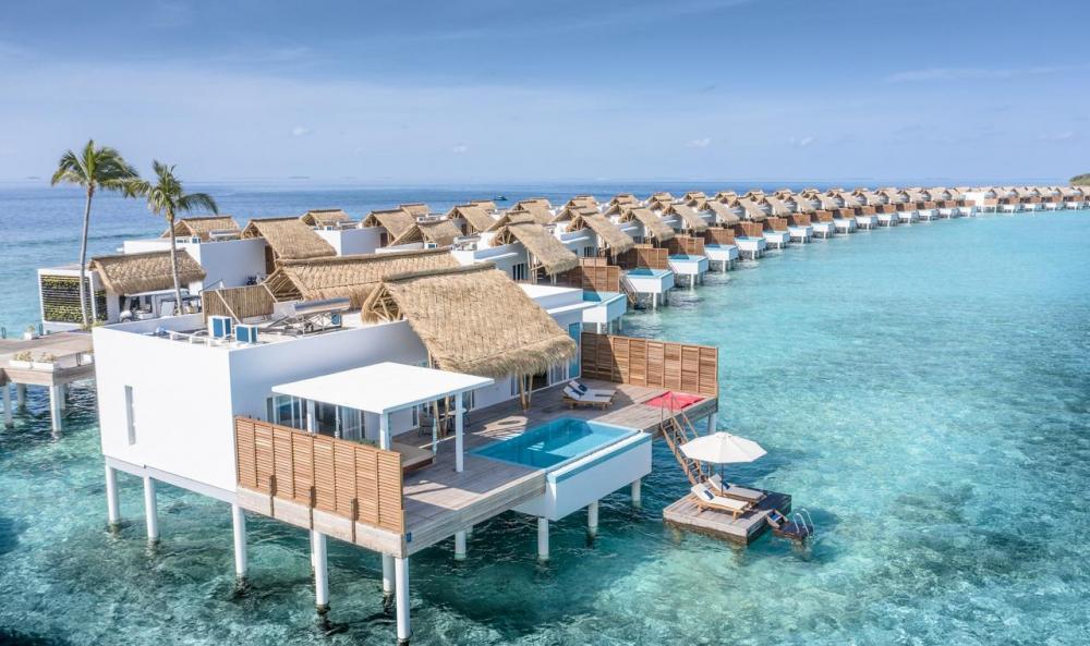 Hotel with private pool - Emerald Maldives Resort & Spa-Deluxe All Inclusive