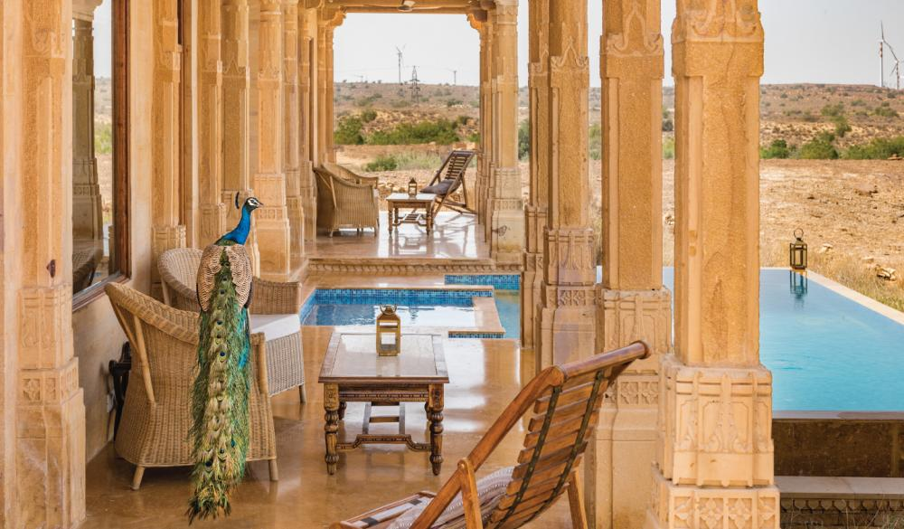 Hotel with private pool - Suryagarh Jaisalmer