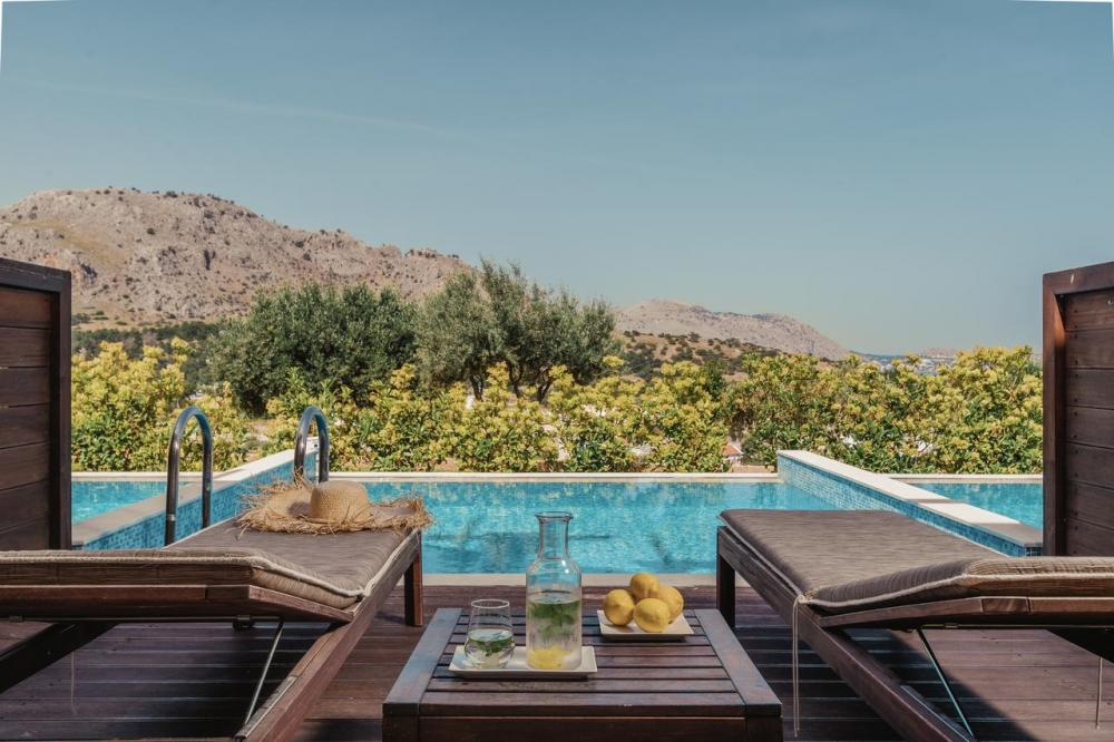 Hotel with private pool - Lindos Imperial Resort & Spa