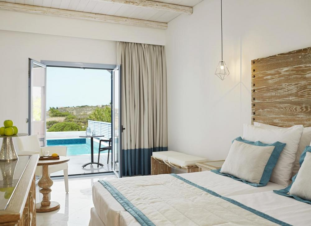 Hotel with private pool - Mitsis Rodos Village Beach Hotel & Spa