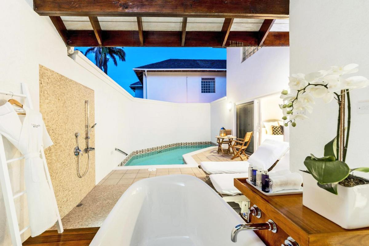 Hotel with private pool - Calabash Luxury Boutique Hotel