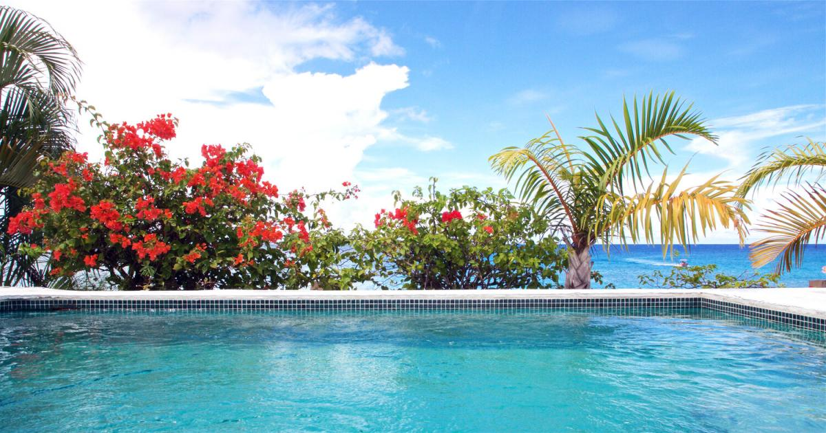 Hotel with private pool - Cobblers Cove