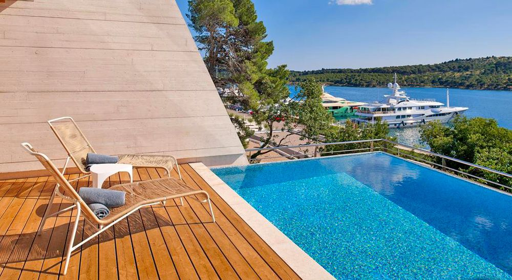 Hotel with private pool - D-Resort Sibenik