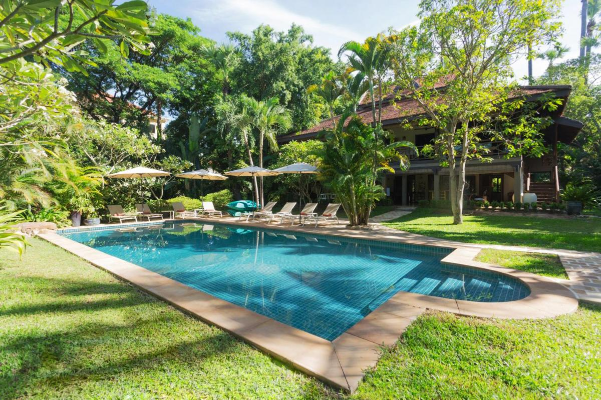 Hotel with private pool - La Palmeraie D'angkor