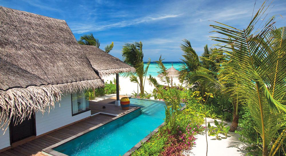 Hotel with private pool - OZEN by Atmosphere at Maadhoo