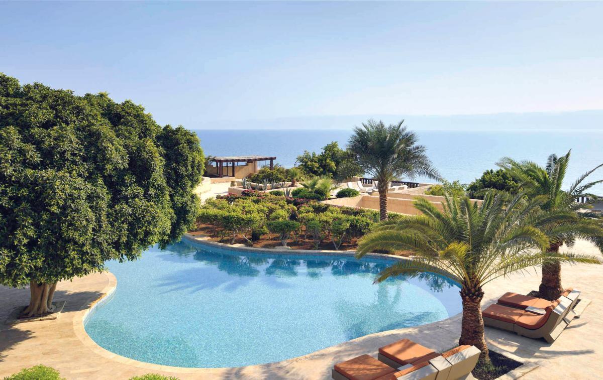 Hotel with private pool - Mövenpick Resort & Spa Dead Sea