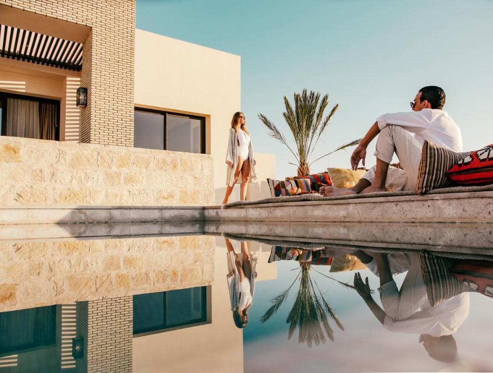 Hotel with private pool - Anantara Sahara-Tozeur Resort & Villas