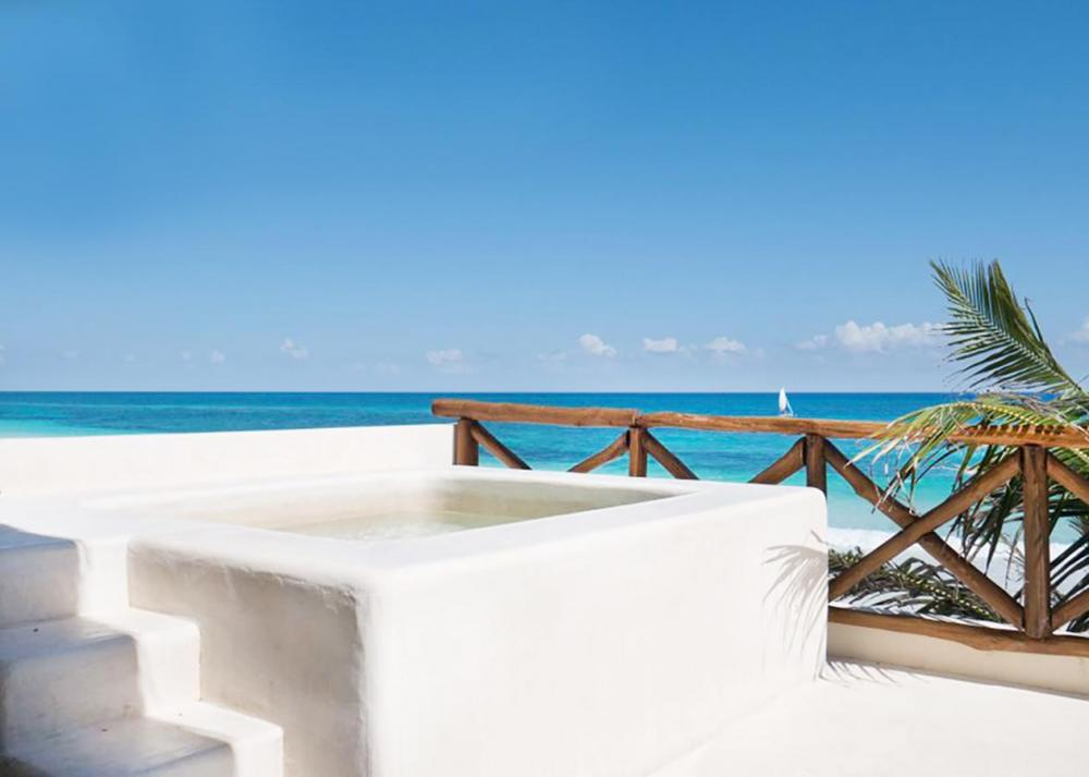 Hotel with private pool - Dune Boutique Hotel