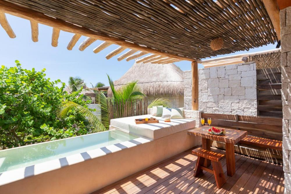 Hotel with private pool - Hotel Ma'xanab Tulum