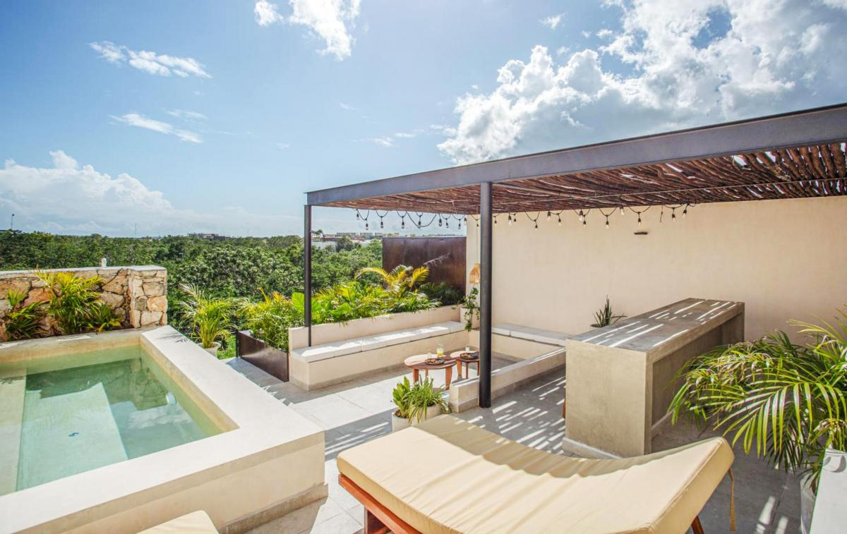 Hotel with private pool - Watal Tulum Hotel