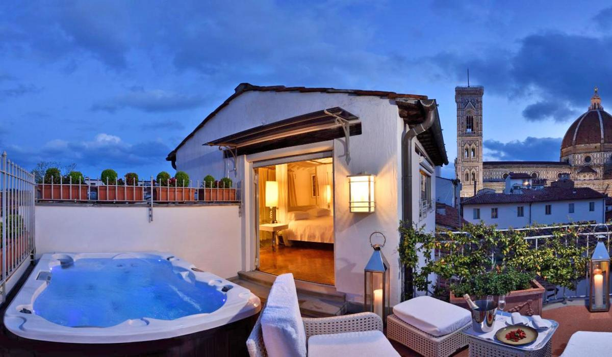 Hotel with private pool - Brunelleschi Hotel