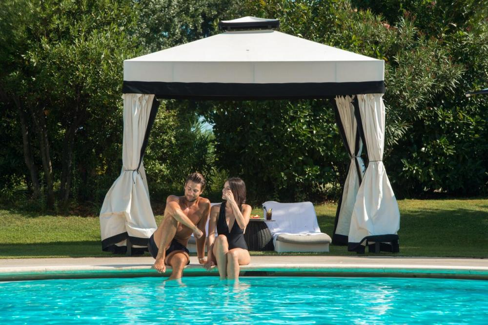 Hotel with private pool - San Clemente Palace Kempinski Venice