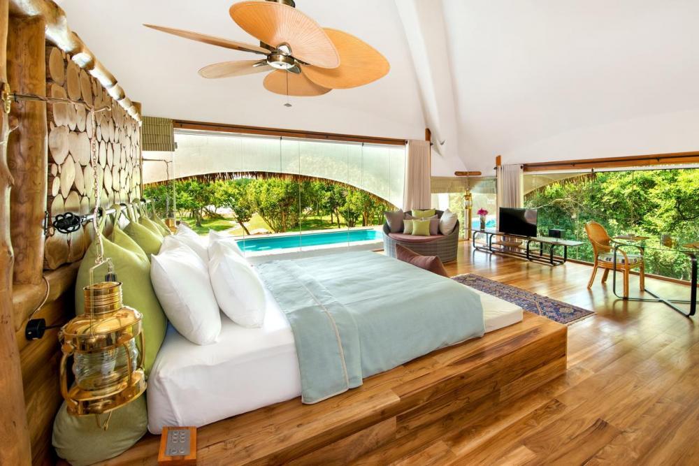 Hotel with private pool - Uga Chena Huts – All Inclusive