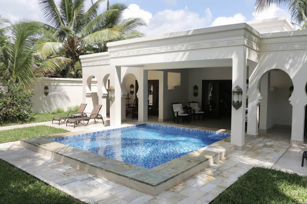 Hotel with private pool - Baraza Resort and Spa Zanzibar