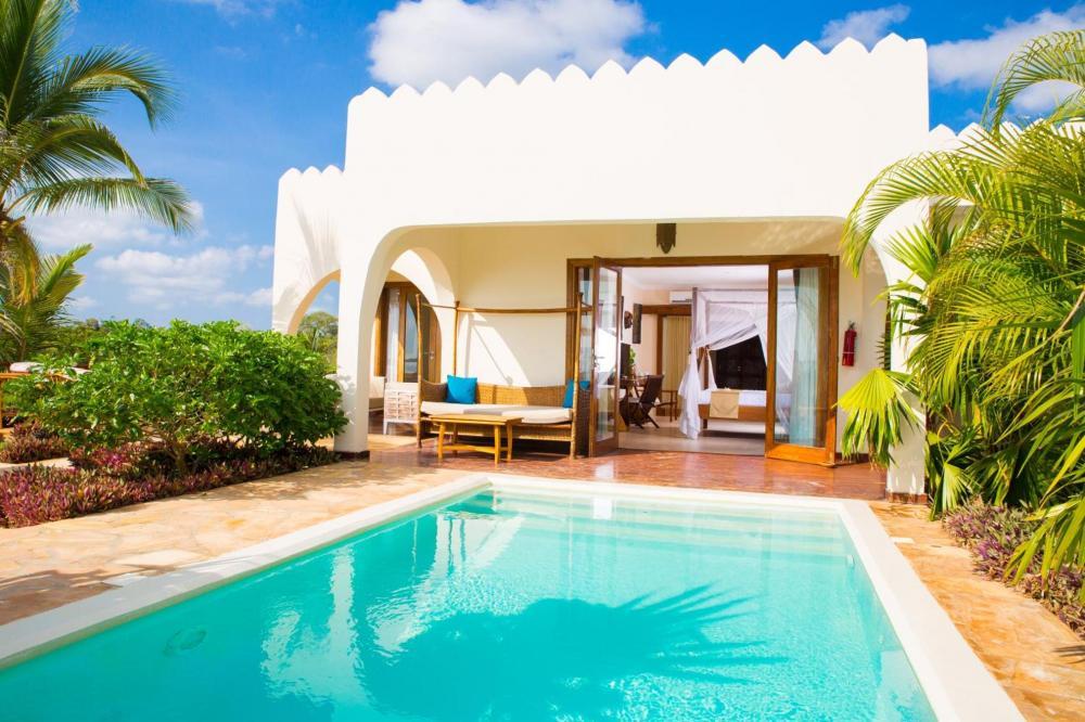 Hotel with private pool - Fruit & Spice Wellness Resort Zanzibar